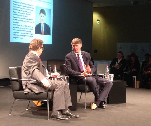 Brian Murray in conversation with Ruediger Wischenbart