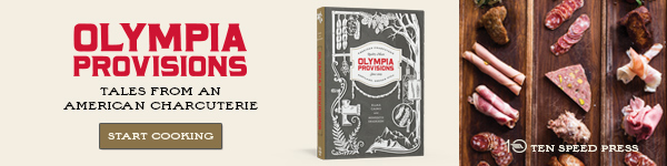 Ten Speed Press: Olympia Provisions by Elias Cairo & Meredith Erickson