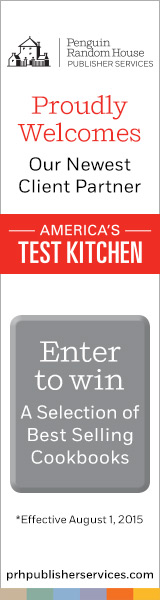 Penguin Random House Publisher Services: American Test Kitchen Announcement and Cookbook Giveaway
