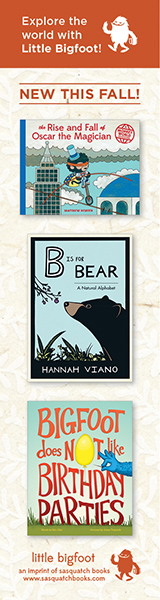 Sasquatch Books: New Children's Books This Fall