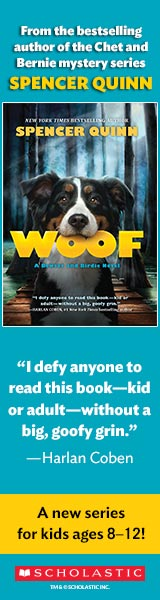 Scholastic: Woof by Spencer Quinn