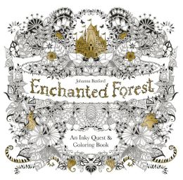Basfords Second Adult Coloring Book Enchanted Forest Laurence King Feb 2015 Has Already Sold More Than 220000 Copies Titles By Basford Are On