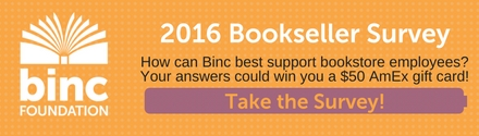 Binc: 2016 Booksellers Survey