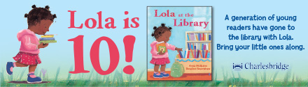 Charlesbridge: Lola at the Library by Anna McQuinn