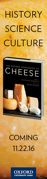 Oxford University Press: The Oxford Companion to Cheese by Catherine Donnelly