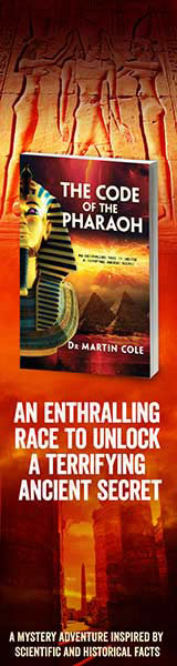 Sid Harta Publishers: The Code of the Pharaoh by Martin Cole