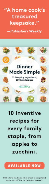 Oxmoor House: Dinner Made Simple by The Editors of Real Simple Magazine