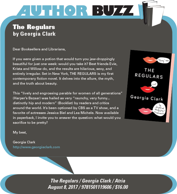 Atria Books: The Regulars by Georgia Clark