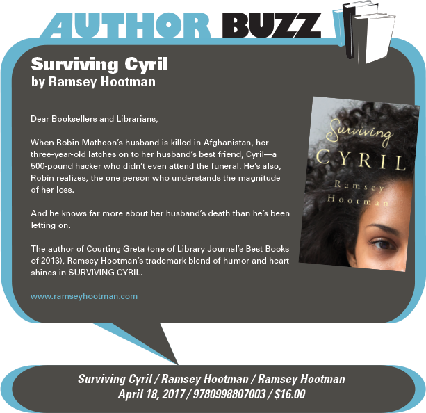 AuthorBuzz: Surviving Cyril by Ramsey Hootman