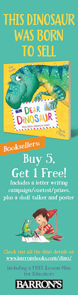 Barron's Educational Series: Dear Dinosaur: With Real Letters to Read! by Chae Strathie, illustrated by Nicola O'Byrne
