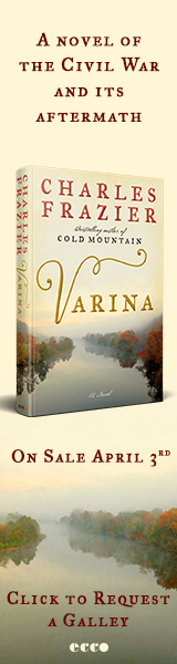 Ecco Press: Varina by Charles Frazier