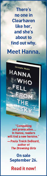 Park Row Books: Hanna Who Fell from the Sky by Christopher Meades