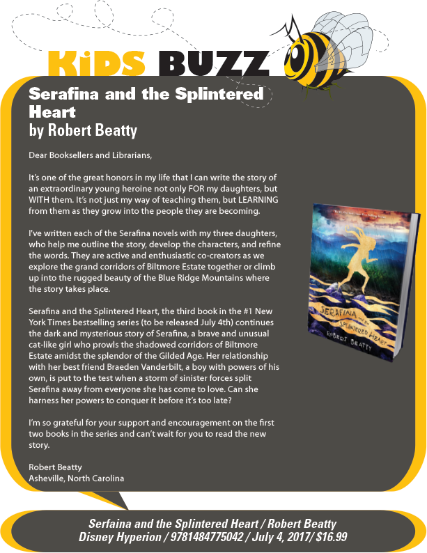 Disney-Hyperion: Serafina and the Splintered Heart (Serafina # 3) by Robert Beatty