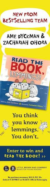 Little, Brown Books for Young Readers: Read the Book, Lemmings! by Amie Dyckman, illustrated by Zachariah Ohora
