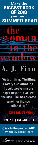 Morrow: The Woman in the Window by A.J. Finn
