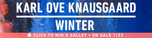 Penguin Press: Winter by Karl Ove Knausgaard