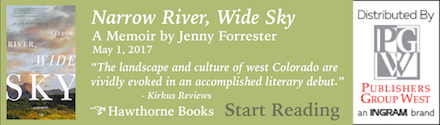 Hawthorne Books: Narrow River, Wide Sky by Jenny Forrester