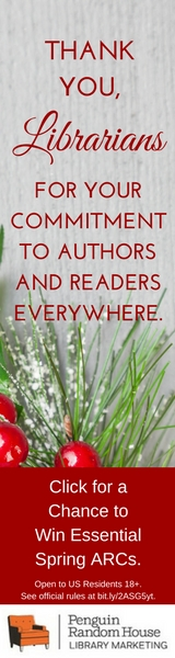 Penguin Random House Library Marketing: Thank you, librarians for your commitment to authors and readers everywhere.