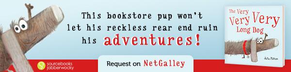 Sourcebooks Jabberwocky: The Very Very Very Long Dog by Julia Patton