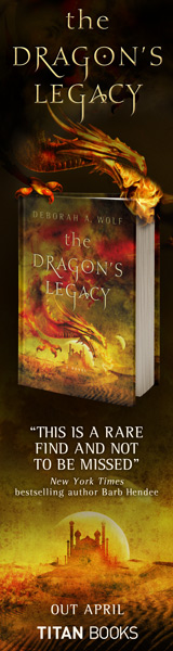 Titan Books: The Dragon's Legacy by Deborah A. Wolf