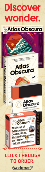Workman Publishing: Atlas Obscura by Joshua Foer, Dylan Thuras, and Ella Morton