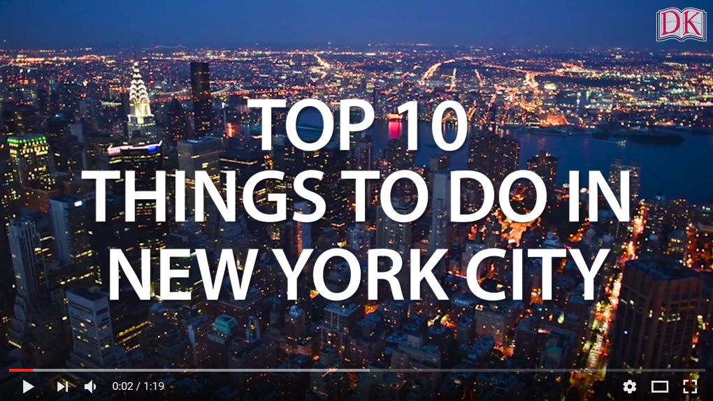 Dk eyewitness travel guide to bookexpo 2017 top 10 things for Things to do new york today