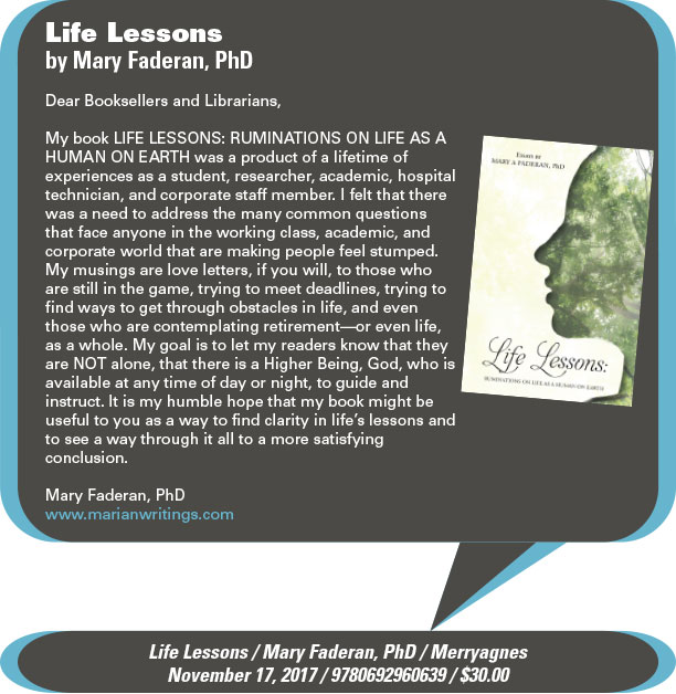 AuthorBuzz: Merryagnes: Life Lessons by Mary Faderan, PhD
