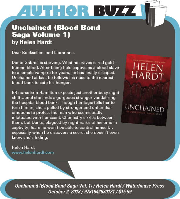 AuthorBuzz: Waterhouse Press: Unchained (Blood Bond Saga Volume 1) by Helen Hardt