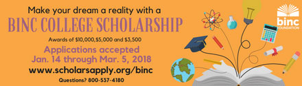 Binc Foundation: Bookseller College Scholarship