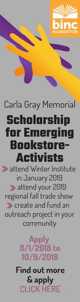 Binc Foundation: Carla Gray Scholarship for Emerging Bookstore Activists