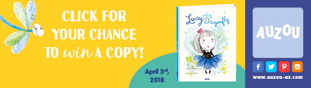 Auzou: Lucy and the Dragonfly by Lucie Papineau, illustrated by Caroline Hamel