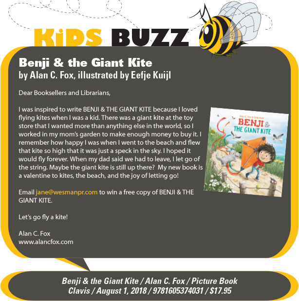 KidsBuzz: Clavis: Benji & the Giant Kite by Alan C. Fox, illustrated by Eefje Kuijl