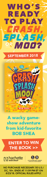 Little, Brown Books for Young Readers: Crash, Splash, or Moo! by Bob Shea