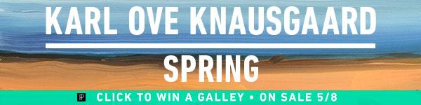 Penguin Press: Spring by Karl Ove Knausgaard