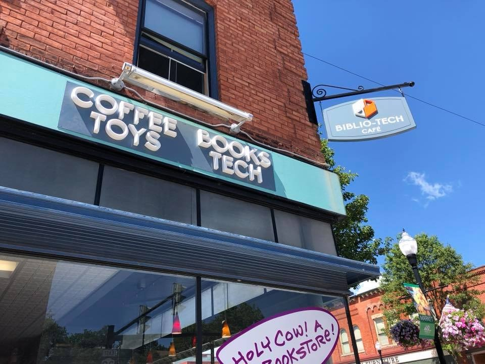 Biblio-Tech Café Opens in Perry, N Y    Shelf Awareness