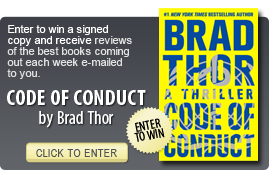 Click here to enter a giveaway for CODE OF CONDUCT by Brad Thor