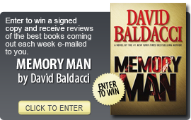 Click here to enter a giveaway for MEMORY MAN by David Baldacci
