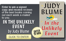 Click here to enter a giveaway for In the Unlikely Event by Judy Blume