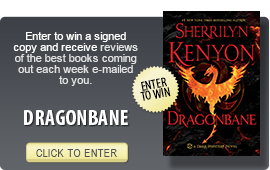 Click here to enter a giveaway for DRAGONBANE by Sherrilyn Kenyon