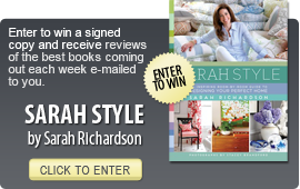 Click here to enter a giveaway for SARAH STYLE by Sarah Richardson