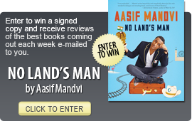 Click here to enter a giveaway for NO LAND'S MAN by Aasif Mandvi