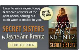 Click here to enter a giveaway for SECRET SISTERS Jayne Ann Krentz