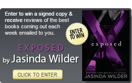 Click here to enter a giveaway for EXPOSED by Jasinda Wilder