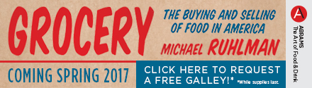 Abrams: Grocery by Michael Ruhlman