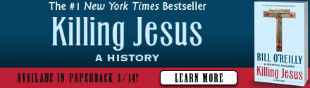 Henry Holt & Company: Killing Jesus by Bill O'Reilly and Martin Dugard