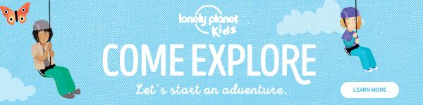 Lonely Planet Kids: Let's Start an Adventure - Come Explpore