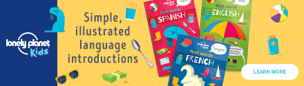 Lonely Planet Kids: First Words (French, Spanish, English)