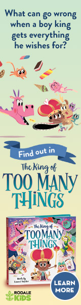 Rodale Kids: The King of Too Many Things by Laurel Snyder, illustrated by Aurore Damant