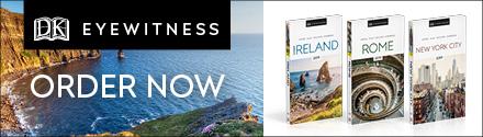 DK Eyewitness Travel Guides: Ireland, Rome, New York City by DK Travel