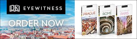 DK Eyewitness Travel Guides: Prague, Rome, and Paris by DK Travel
